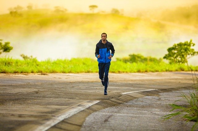 samotny biegacz